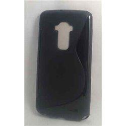 G Flex 2 чехол-накладка, силиконовый волна, черный