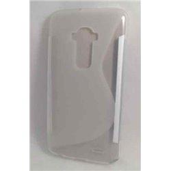G Flex 2 чехол-накладка, силиконовый волна, прозрачный