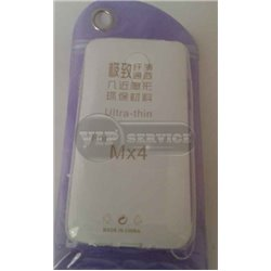 MX4 чехол-накладка, силиконовый, прозрачный