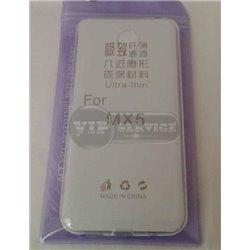 MX5 чехол-накладка, силиконовый, прозрачный