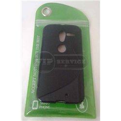 XT-Phone XT1060 чехол-накладка, силиконовый волна, черный