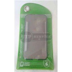 XT-Phone XT1060 чехол-накладка, силиконовый волна, прозрачный
