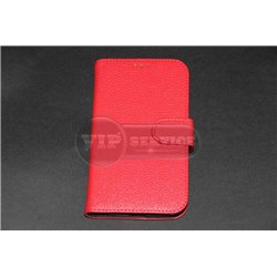 Grand Prime G5308 чехол-книжка, экокожа, красный