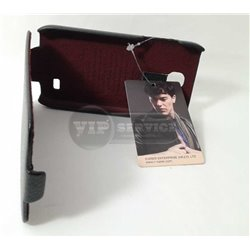S4 mini чехол-блокнот iCarer, экокожа, черный