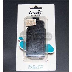 C5212 чехол-блокнот A-Case, экокожа, черный