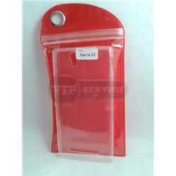 C3 чехол-накладка, силиконовый, прозрачный