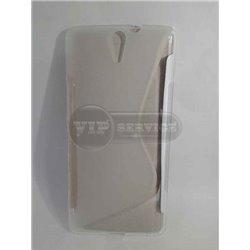 C5 Ultra чехол-накладка, силиконовый волна, прозрачный