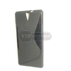 C5 Ultra чехол-накладка, силиконовый волна, черный