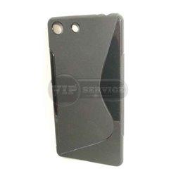 M5 чехол-накладка, силиконовый волна, черный