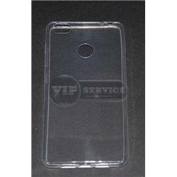 Mi4S чехол-накладка силиконовый, прозрачный