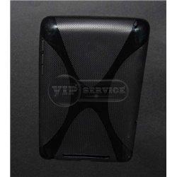 Nexus 7 2012 чехол-накладка, силиконовый, черный