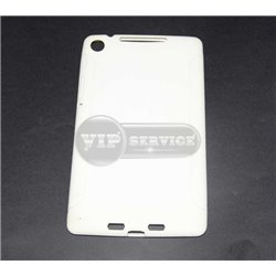 Nexus 7 2013 чехол-накладка, силиконовый, белый