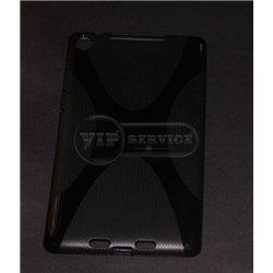 Nexus 7ii чехол-накладка, силиконовый, черный