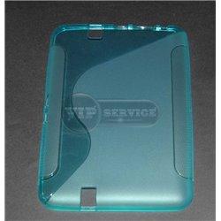 Kindle Fire HD 8,9'' чехол-накладка, силиконовый волна, лазуритовый