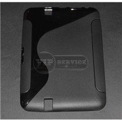 Kindle Fire HD 8,9'' чехол-накладка, силиконовый волна, черный