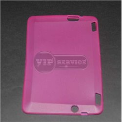 Kindle Fire HD 7'' чехол-накладка, силиконовый, розовый