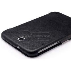 Galaxy Note 8.0 чехол-книжка iCarer, кожаный, черный