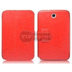 """Note 8.0"""" чехол-книжка iCarer, кожаный, красный"""