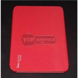 """Note 10.1"""" N8000 чехол-книжка, пластиковый, красный"""