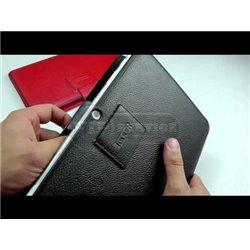Galaxy Tab 10.1 P7500 чехол-книжка iCarer, кожаный, черный