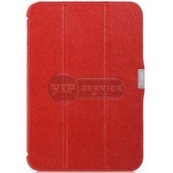 Tab 3 10.1'' P5210 чехол-книжка iCarer, экокожа, красный