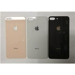 задняя крышка iPhone 8+ серебристая