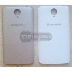 Lenovo S820 задняя крышка, серебристая