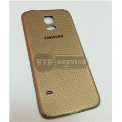 крышка SAMSUNG Galaxy S 5 золотая оригинал